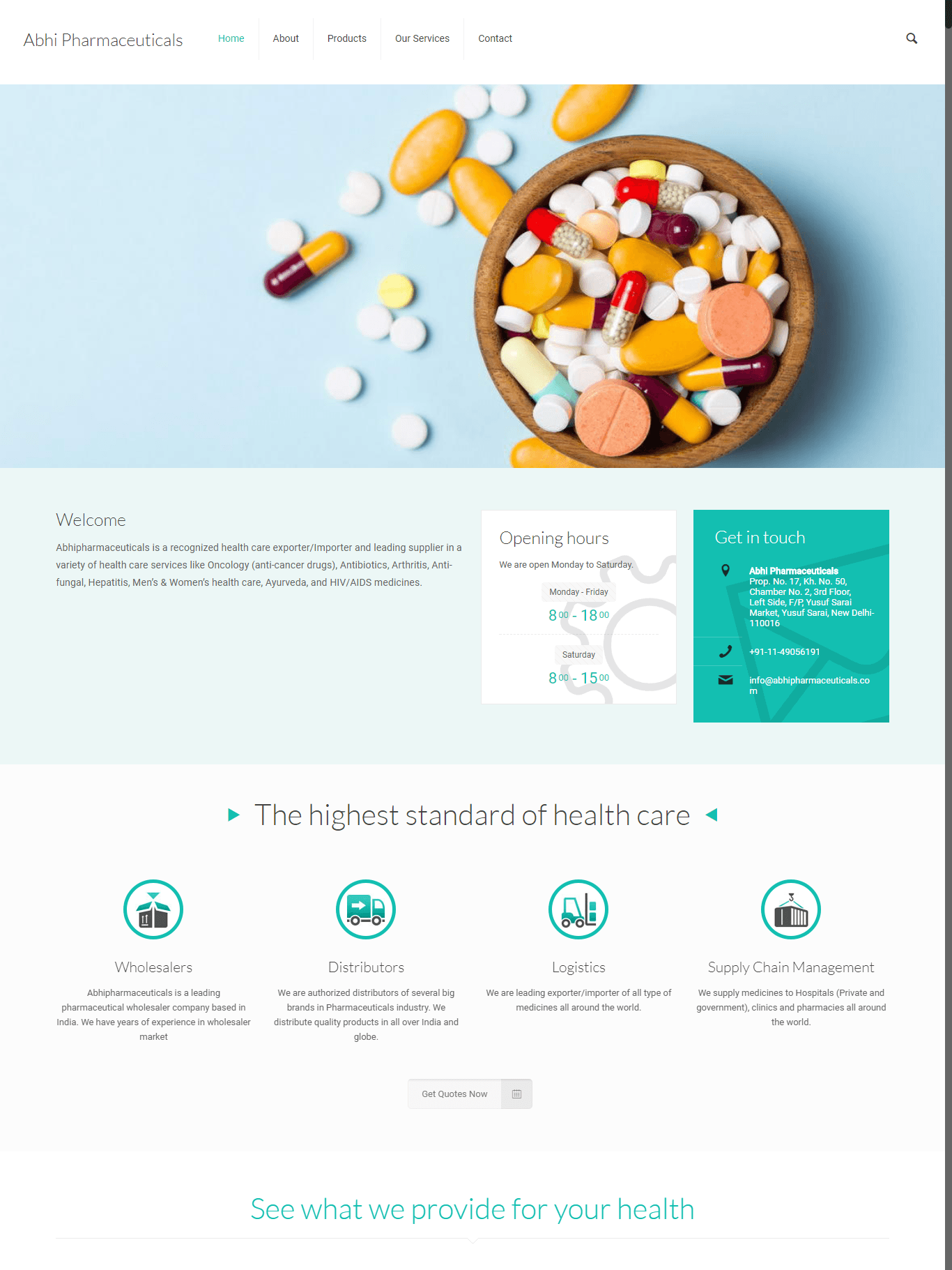 Abhi Pharmaceuticals 1 - Abhi Pharmaceuticals
