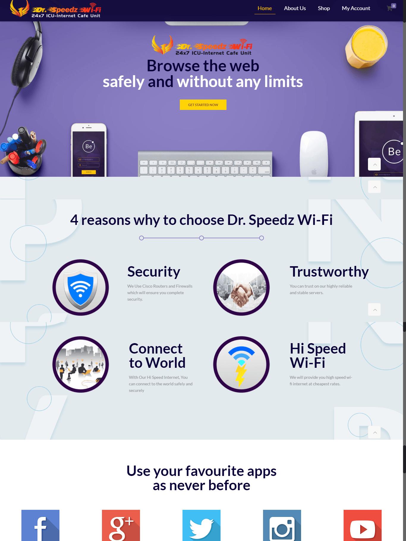 Dr Speedz Wifi 1 - Dr Speedz Wifi